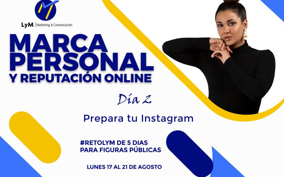 RetoLyM: marca personal en Instagram