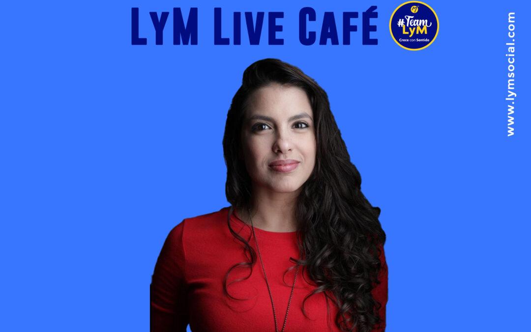 LyM Live Café con Giselle Lominchar: si no estás en las redes se desconoce totalmente tu arte.