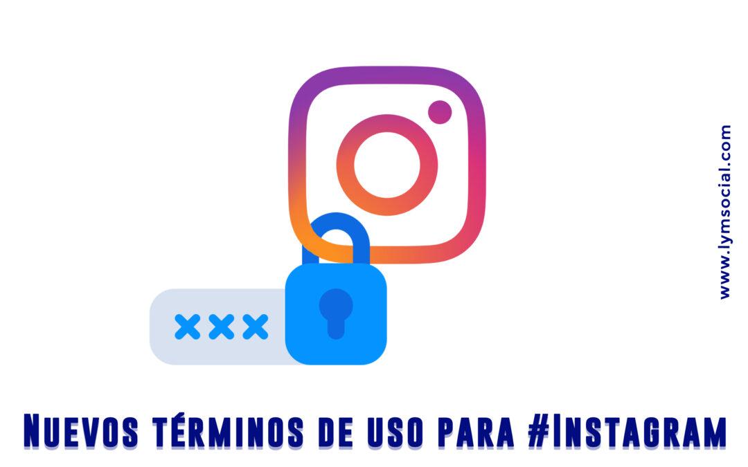 Nuevos términos de uso para #Instagram