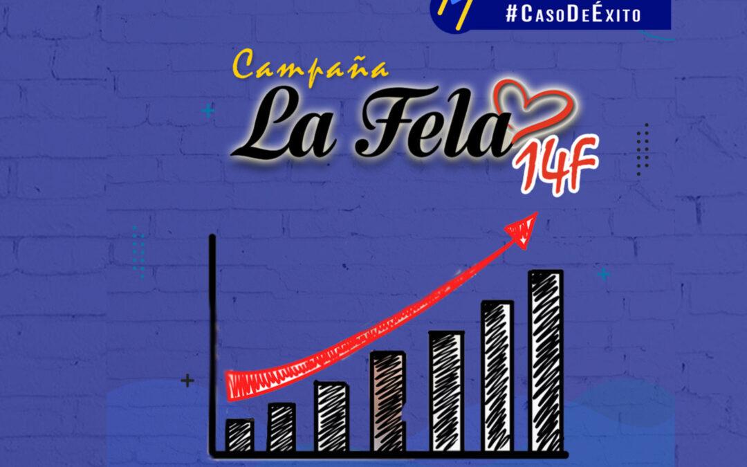 Campaña #LaFela14F en las redes sociales. Un caso de éxito.